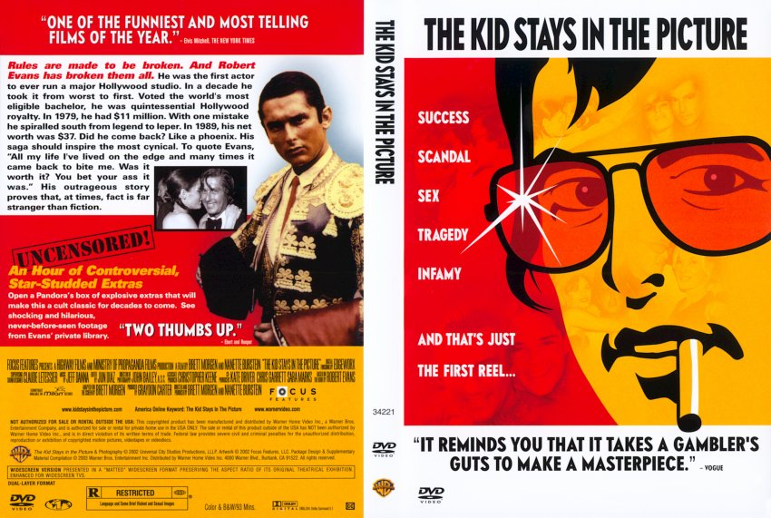 The Kid Stays in the Picture - Movie DVD Scanned Covers ...