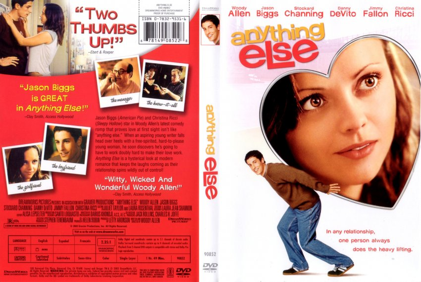 Anything Else R1 Scan - Movie DVD Scanned Covers ... Christina Ricci