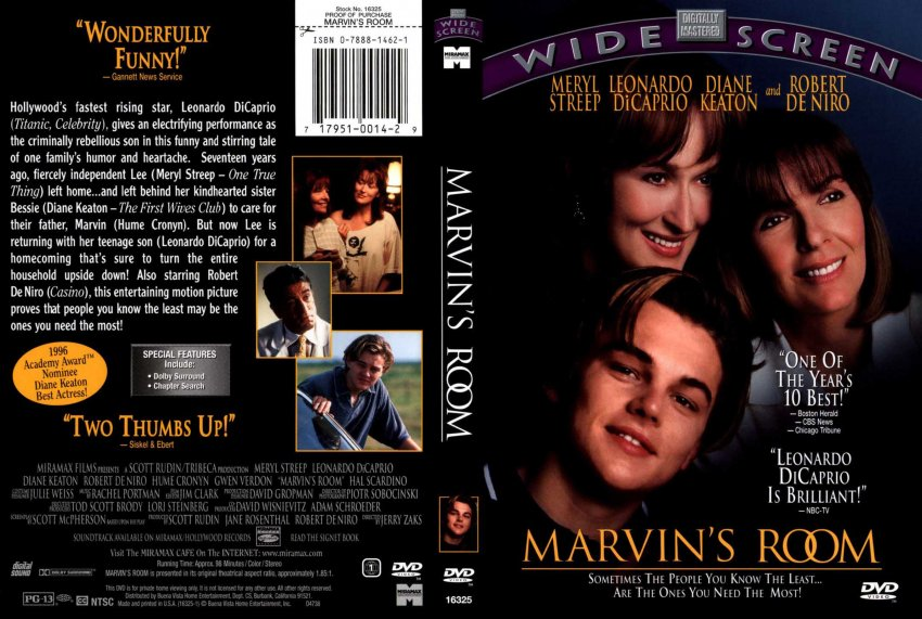 Marvin\'s Room R1 Scan - Movie DVD Scanned Covers - 7marvin s room ...