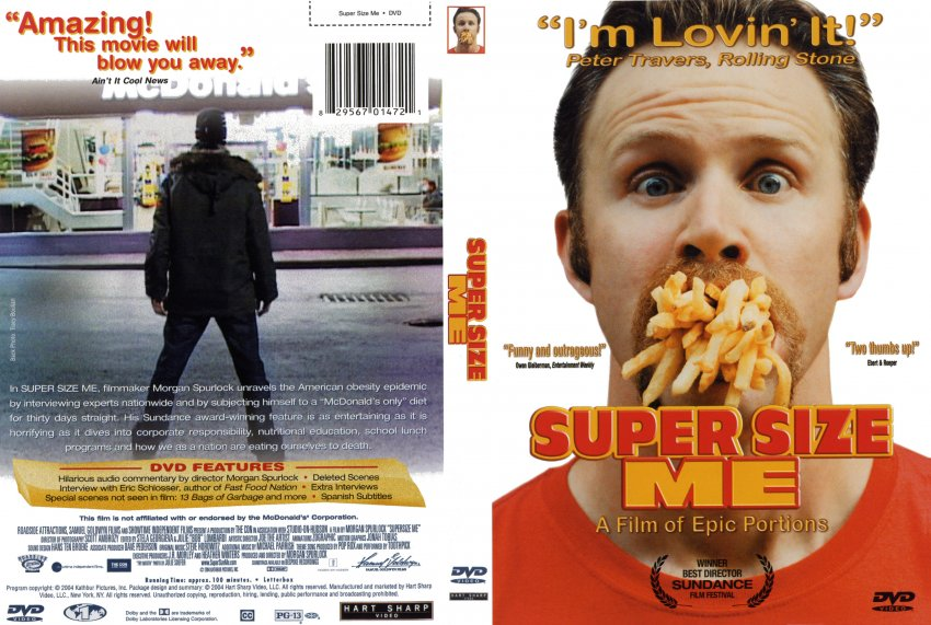 supersize me review Movie lesson plan based on super size me answer key to homework assignment.