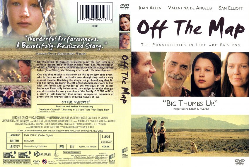 off the map movie dvd scanned covers 872off the map front