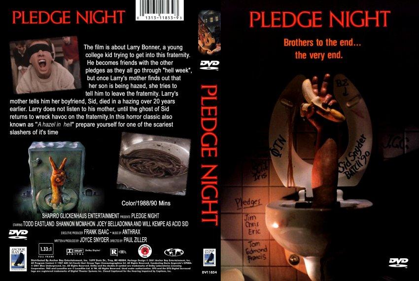 Pledge night... First Night Game
