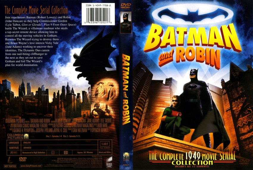 Batman and Robin Movie Cover
