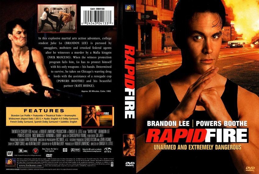 Rapid Fire - Movie DVD Scanned Covers - 964rapid fire - r1 scan ...