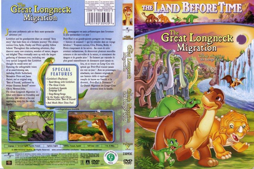 Folkekære Land before time 10 - Movie DVD Scanned Covers - 9landbeforetime10 BY-85