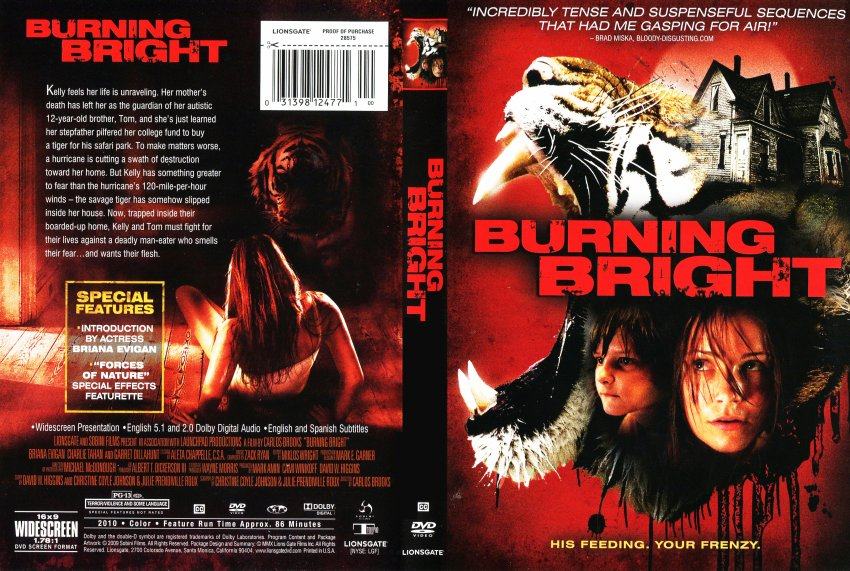 Burning Bright - Movie DVD Scanned Covers - Burning Bright ...