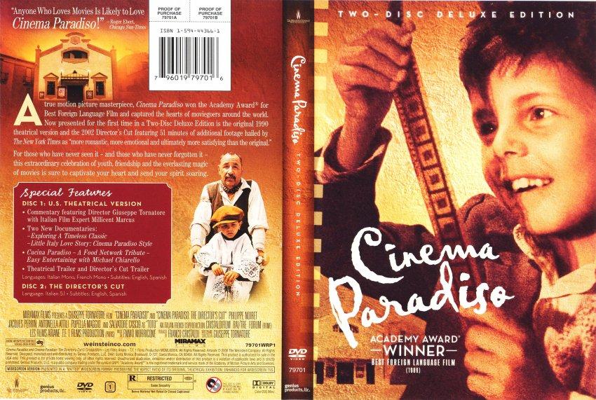 cinema paradiso movie theme analysis