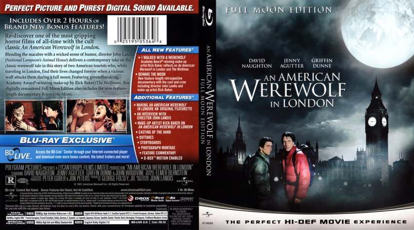 an analysis of the genre of an american werewolf in london a horror film Directors john landis and joe dante know about horror: their respective films an american werewolf in london and film and the horror genre in.