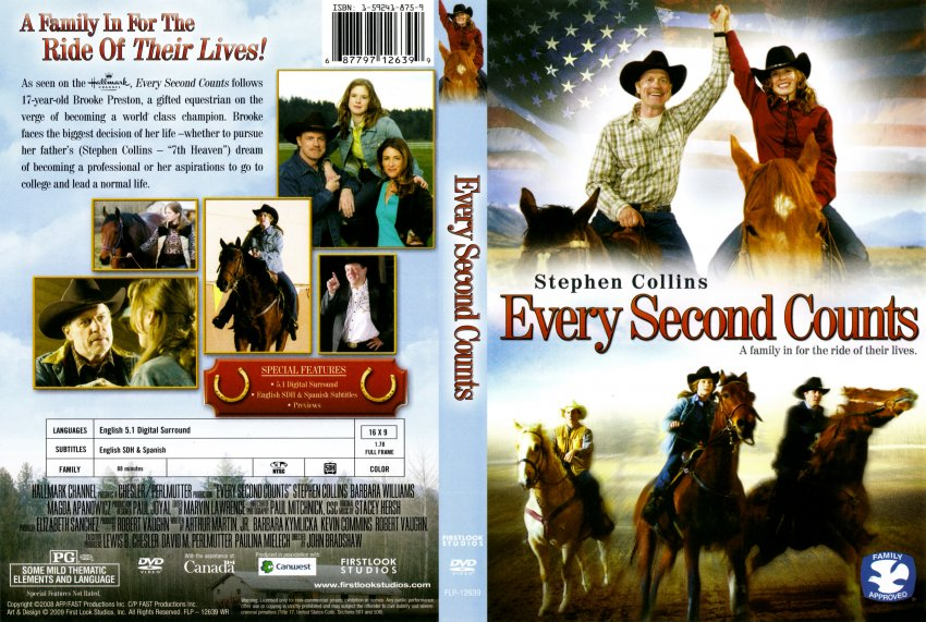 Every Second Counts Movie Dvd Scanned Covers Every Second Counts Dvd Covers