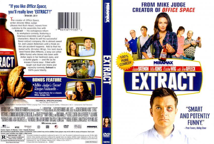 Extract Movie 2009 Extract - Movie DVD Sc...