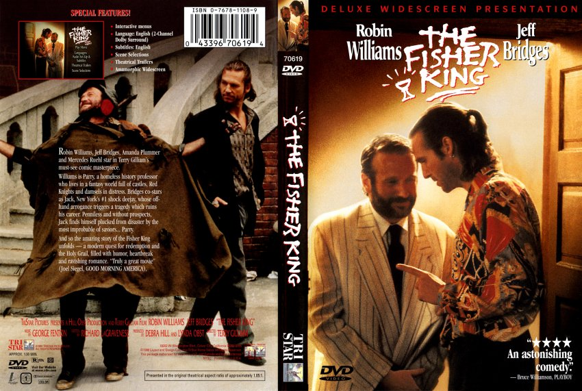 Fisher King, The - Movie DVD Scanned Covers - Fisher King ...