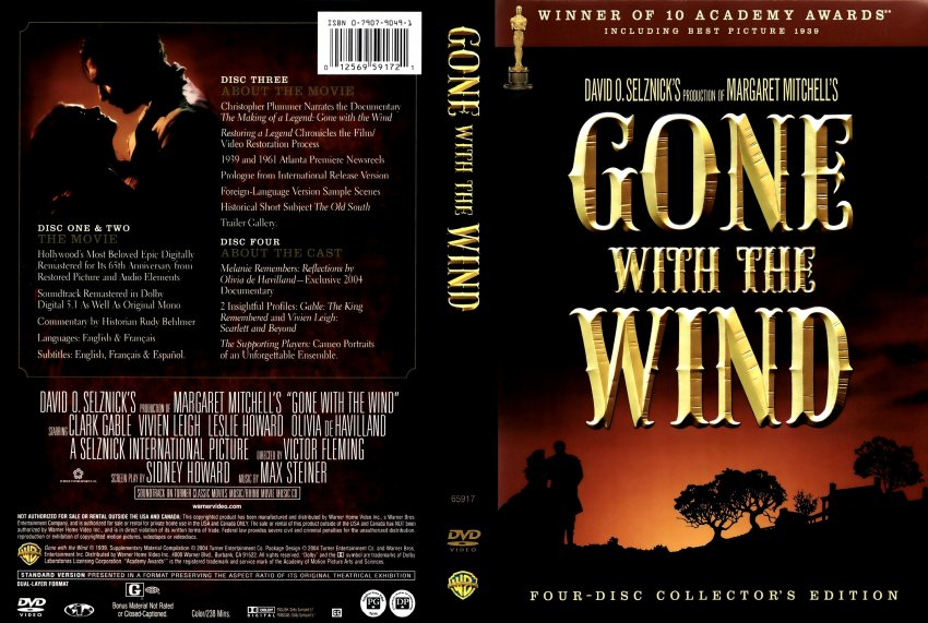 The Gallery For Gone With The Wind Dvd Cover