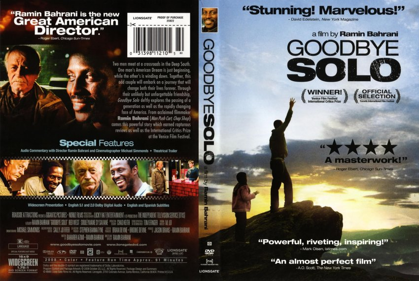 Goodbye Solo DVD-Cover