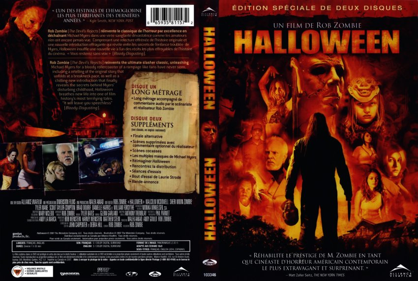 halloween movie dvd scanned covers halloween1 dvd covers
