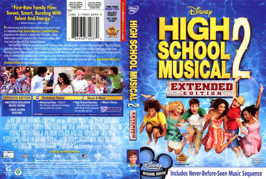 a review of the movie high school musical Review: high school musical 2 anything wrong with a family-friendly musical movie that's freshly music and musicals remakes and sequels review.