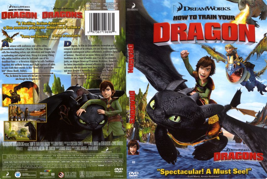 How to train your dragon movie dvd scanned covers how to train how to train your dragon ccuart Images