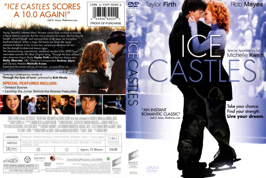 Ice Castles - Movie DVD Scanned Covers - Ice Castles ...