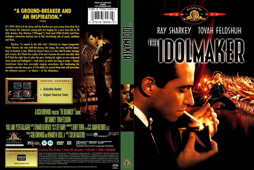 the idolmaker movie dvd scanned covers idolmaker the