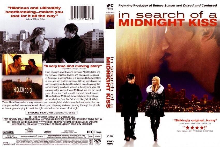 In Search of a Midnight Kiss Movie Script