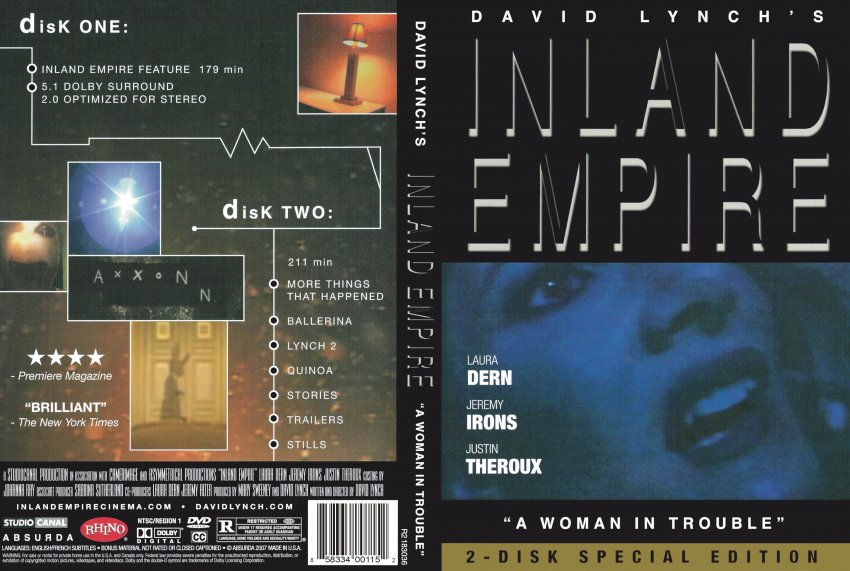 Inland Empire Retail Scan - Movie DVD Scanned Covers