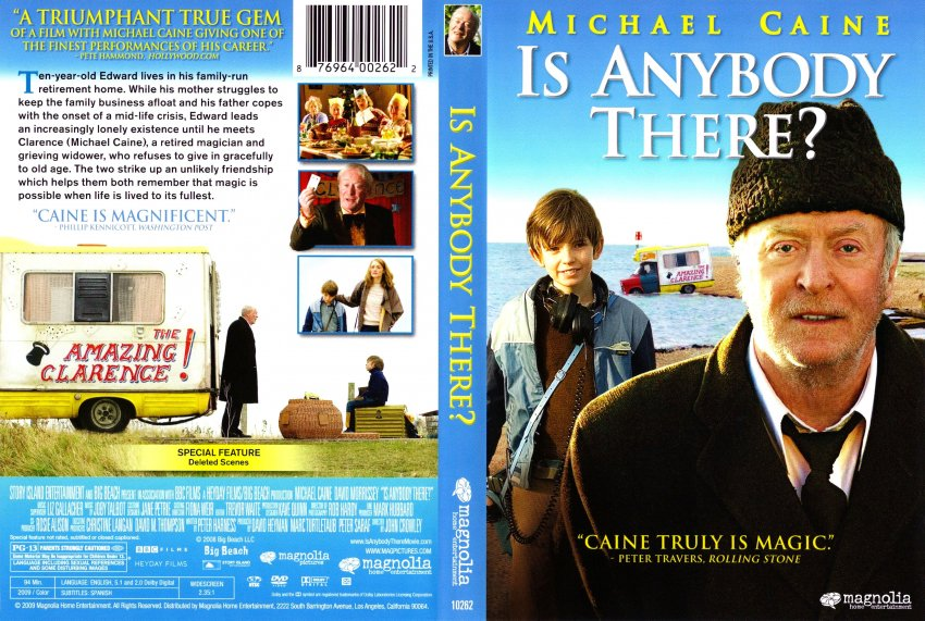 is anybody there movie dvd scanned covers is anybody