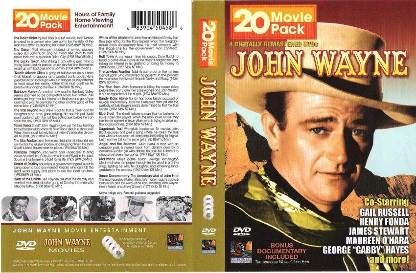p dvd john wayne