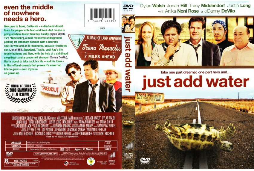 Just Add Water Movie Dvd Scanned Covers Just Add Water F Dvd
