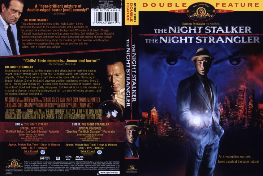 Night Stalker Dvd Kolchak The Night Stalker-the
