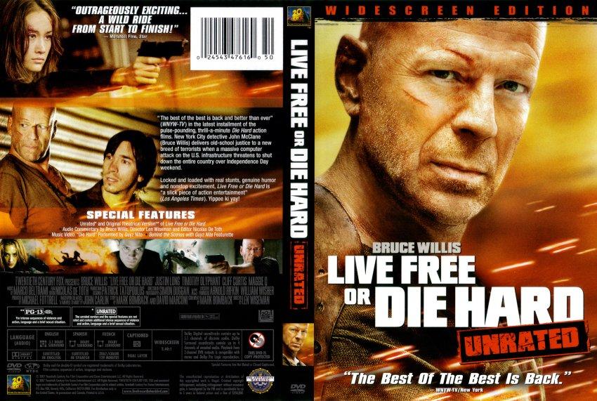 Live Free Or Die Hard Blu-ray, Unrated Version | eBay