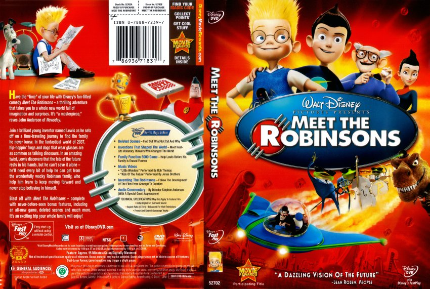 meet the robinsons dvd master of game