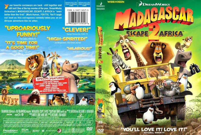 Madagascar 2 Movie Madagascar Escape 2 Africa