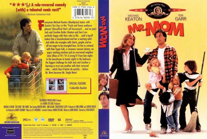 Mr. Mom 1983 DVD-Cover