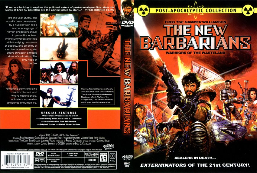The New Barbarians - Movie DVD Scanned Covers - NewBarbarians :: DVD ...