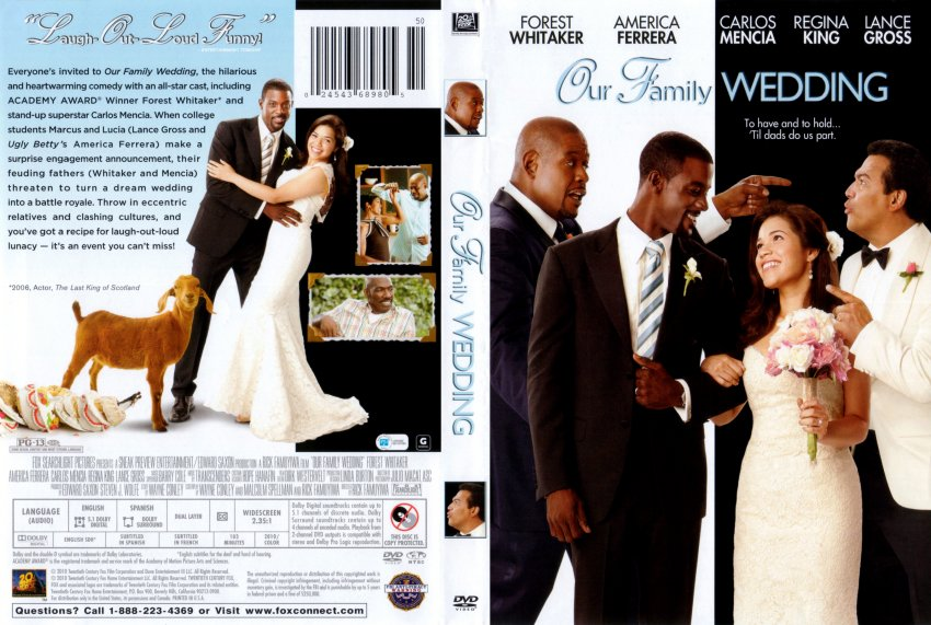 Our Family Wedding DVD Cover