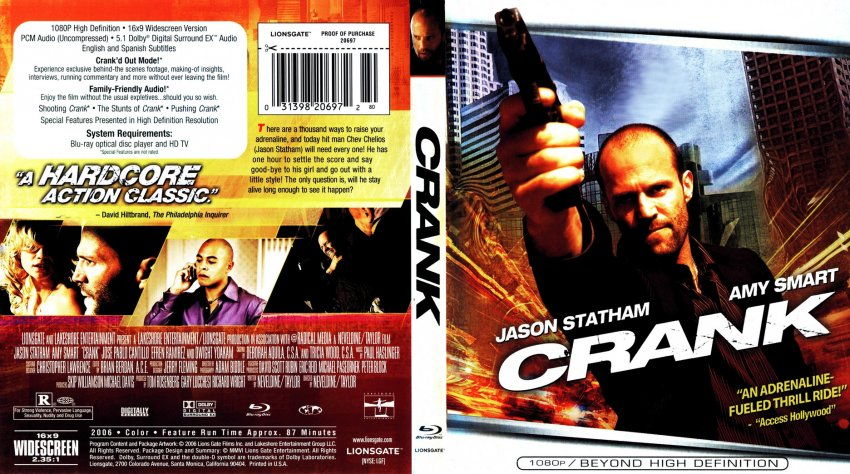 Crank - Movie Blu-Ray ...