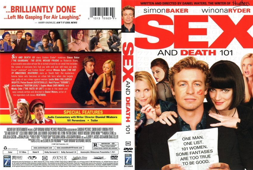 101 cover sex and death dvd