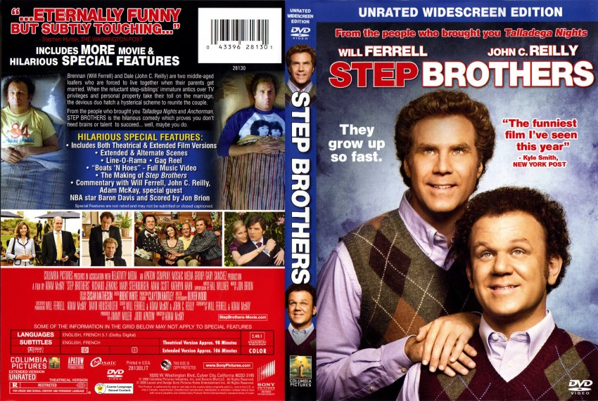 Step brothers movie poster