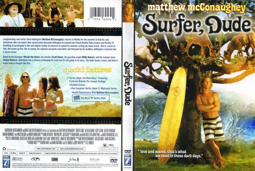 Dvd Surfer Dude Surfer Dude