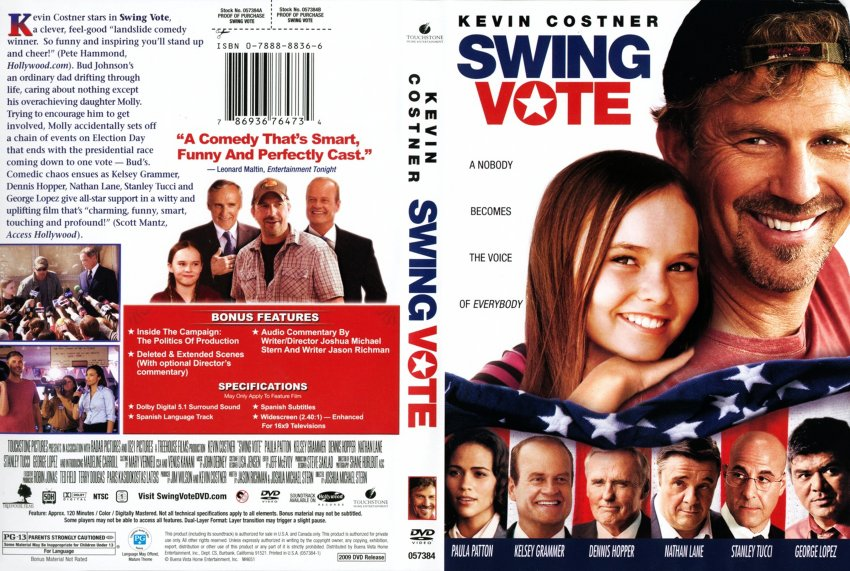 Swing vote review movie