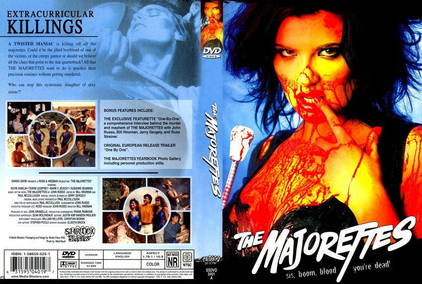 The Majorettes - Movie DVD Scanned Covers - TheMajorettes :: DVD Covers