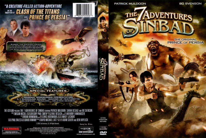 The 7 Adventures Of Sinbad (2010) Watch Online Hindi Dubbed Full Movie