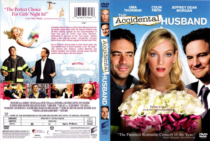 the accidental husband dvd cover