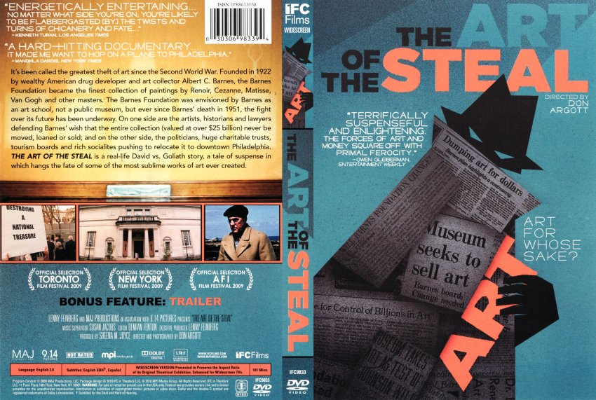 The Art Of The Steal - Movie DVD Scanned Covers - The Art ...