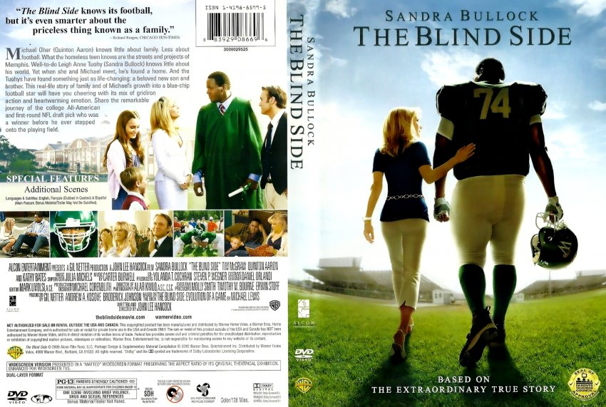 The Blind Side - Movie DVD Scanned Covers - The Blind Side ...