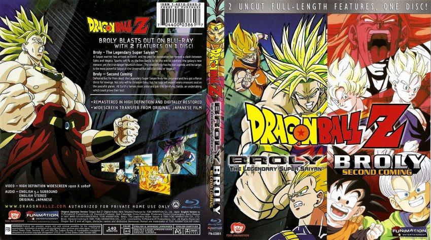 dragon ball z broly. Dragon Ball Z Broly Double