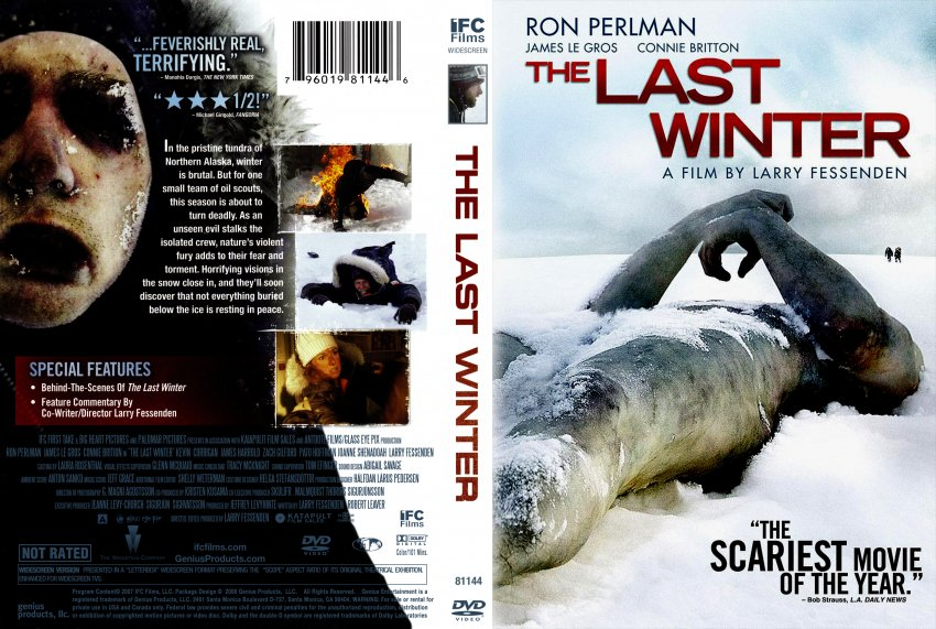 the last winter movie dvd scanned covers the last