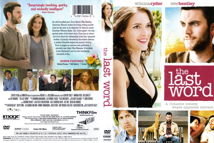 The Last Word - Movie DVD Scanned Covers - The Last Word - SCAN :: DVD ...