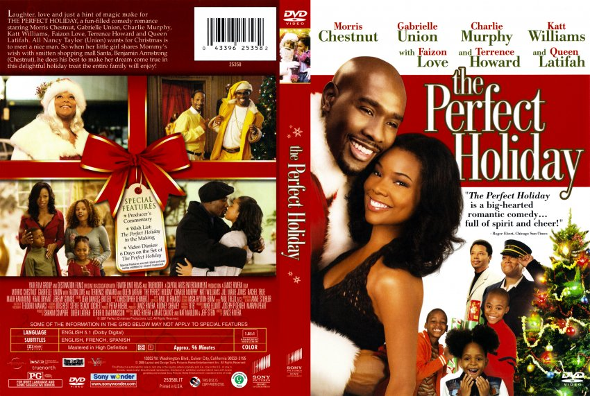 The Perfect Holiday - Movie DVD Scanned Covers - The Perfect Holiday scan :: DVD Covers