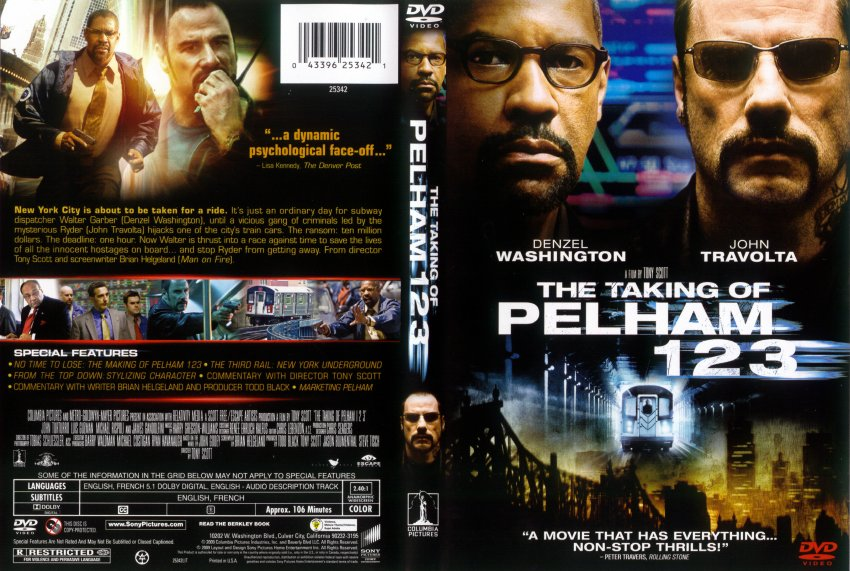 3 1 2 2009 movie for The pelham